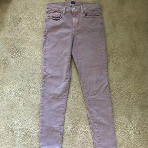 GAP Lavender Purple Jeans